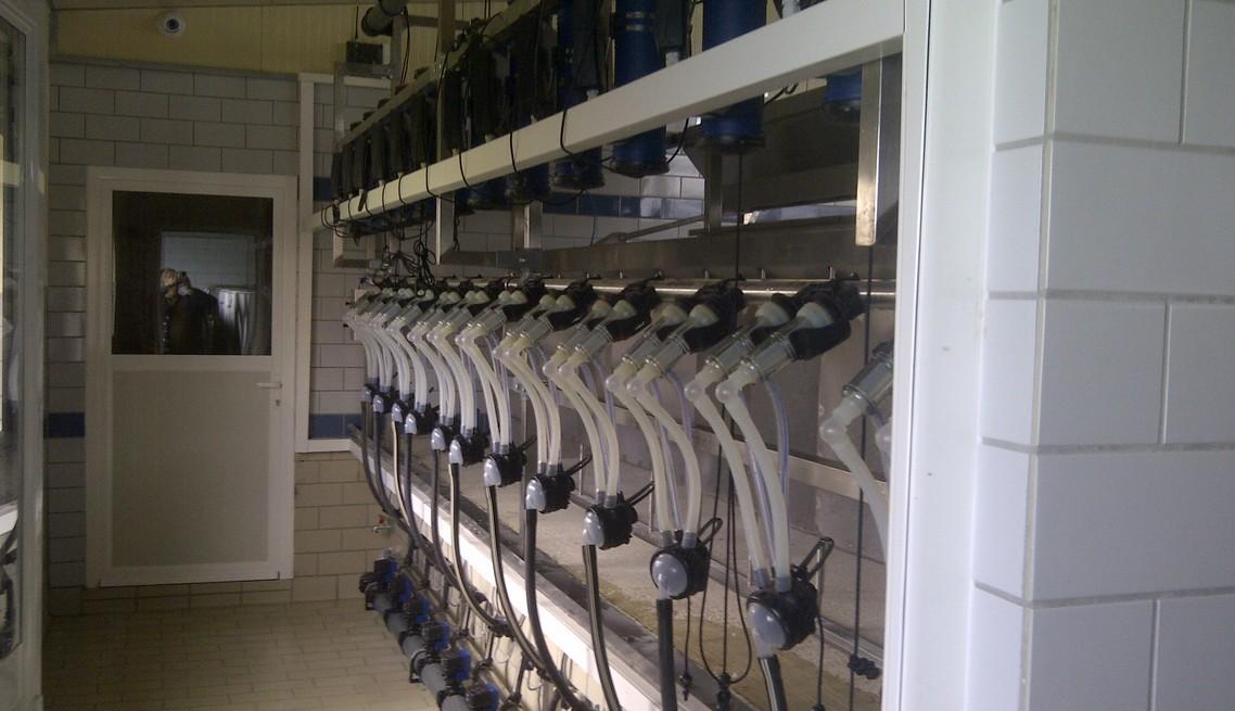 Γαλακτομέτρηση Αιγοπροβάτων
